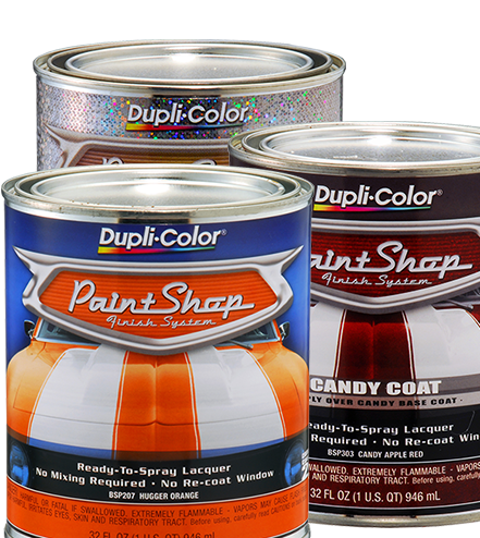 Paint Shop Automotive Lacquer Finish System Duplicolor