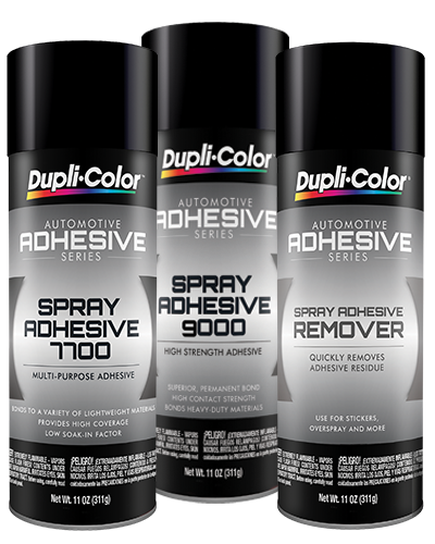 Spray Adhesives and Remover