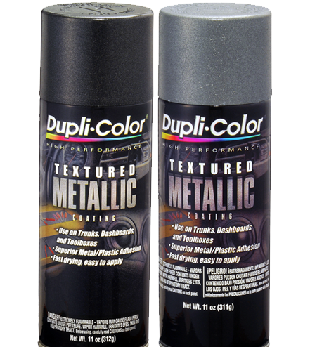 Textured Metallic Automotive Paint