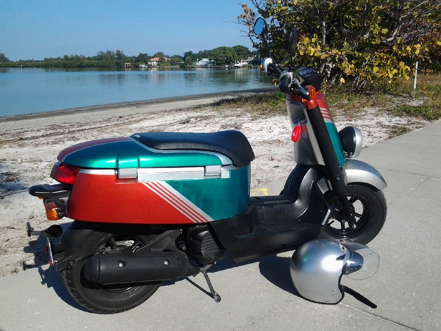 Custom Painted Scooter