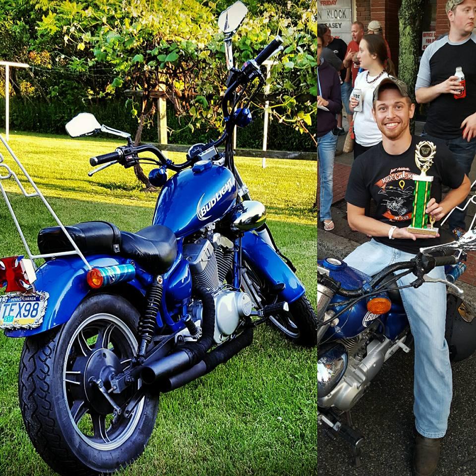 Custom Bud Light Motorcycle