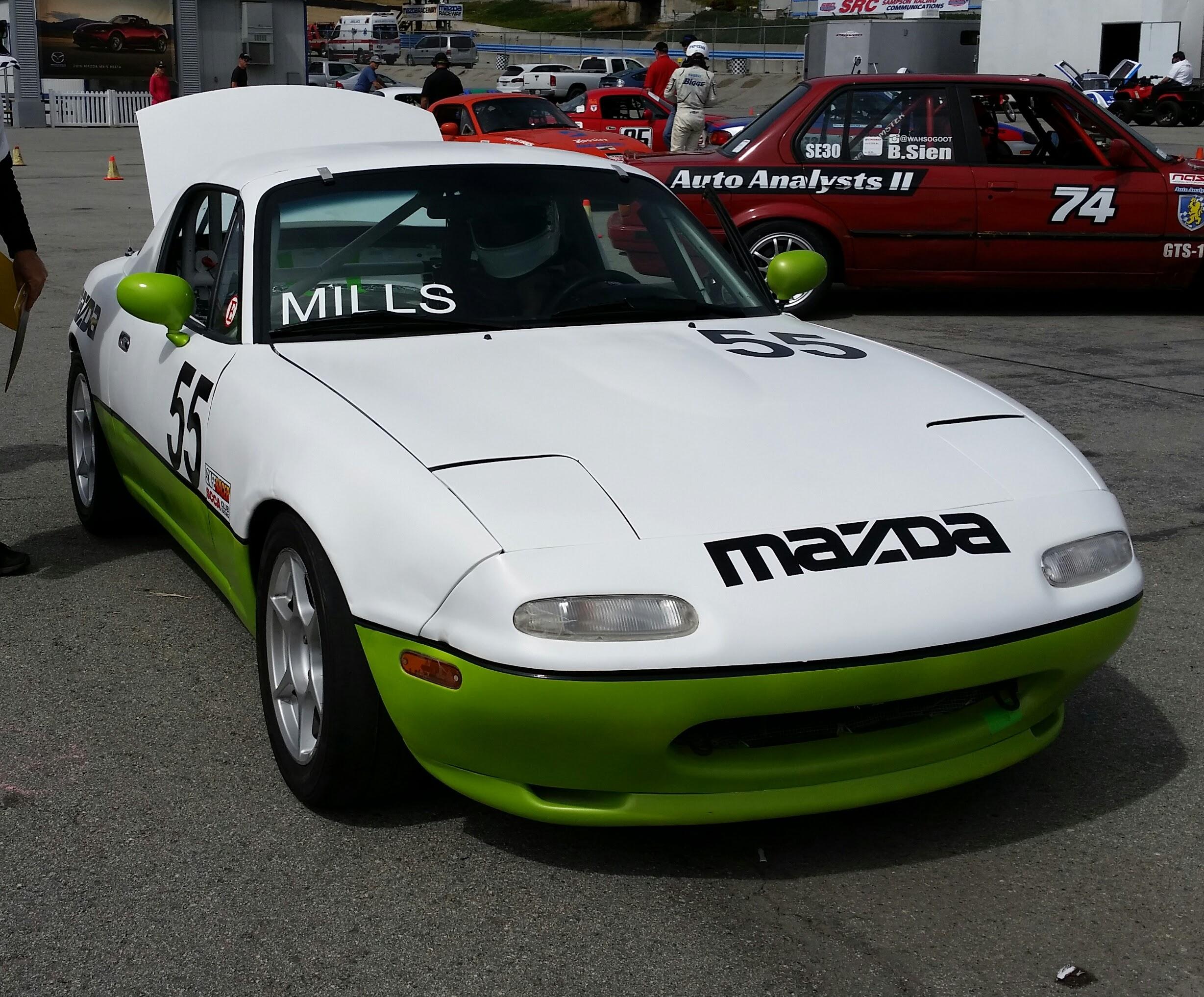 Mills Sport Racing 55 Spec Miata