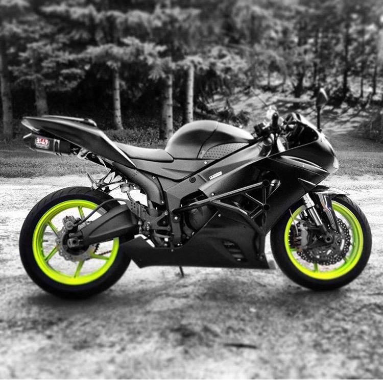 Zx636r track / stunt bike