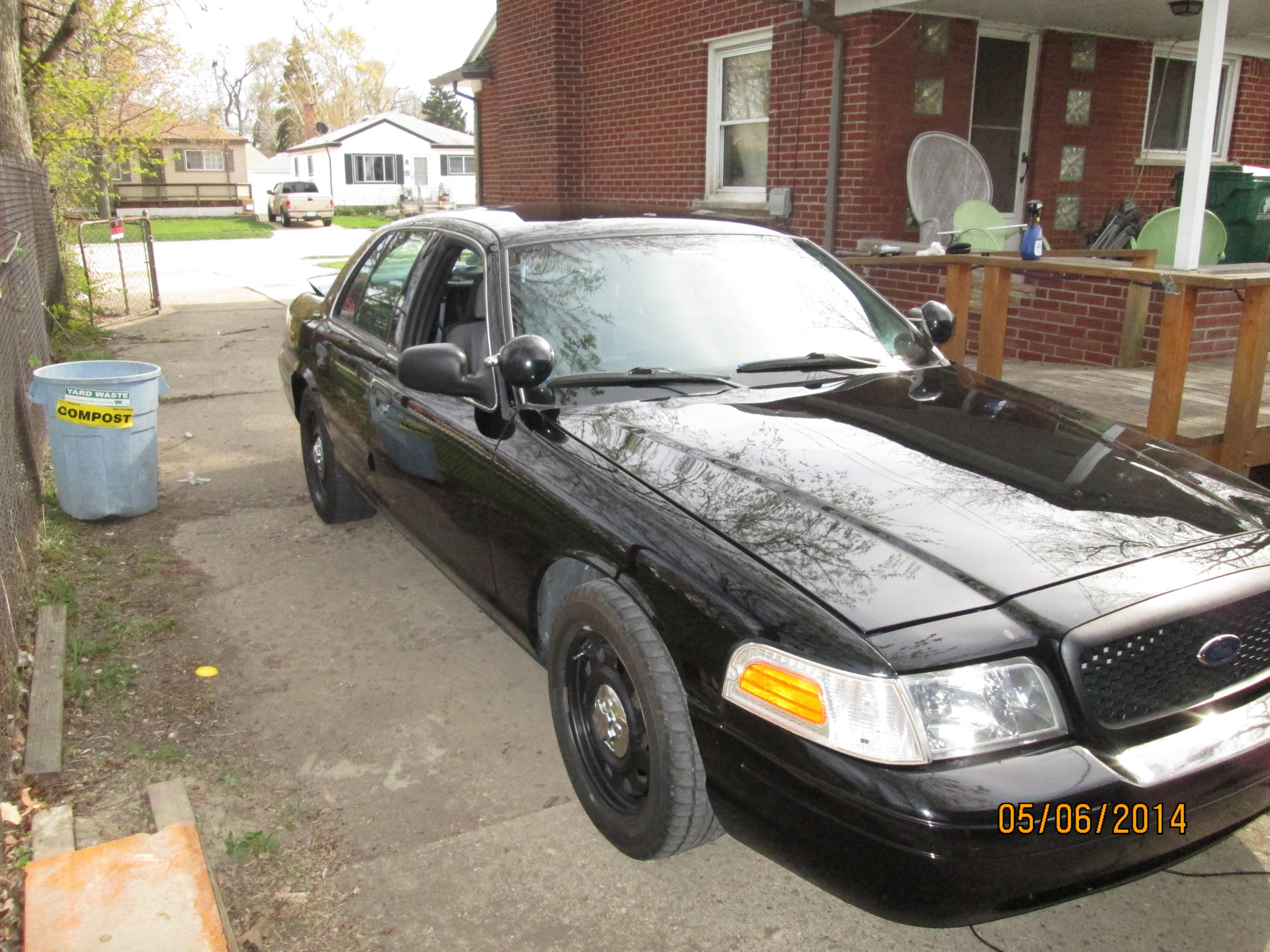 Cop car fix