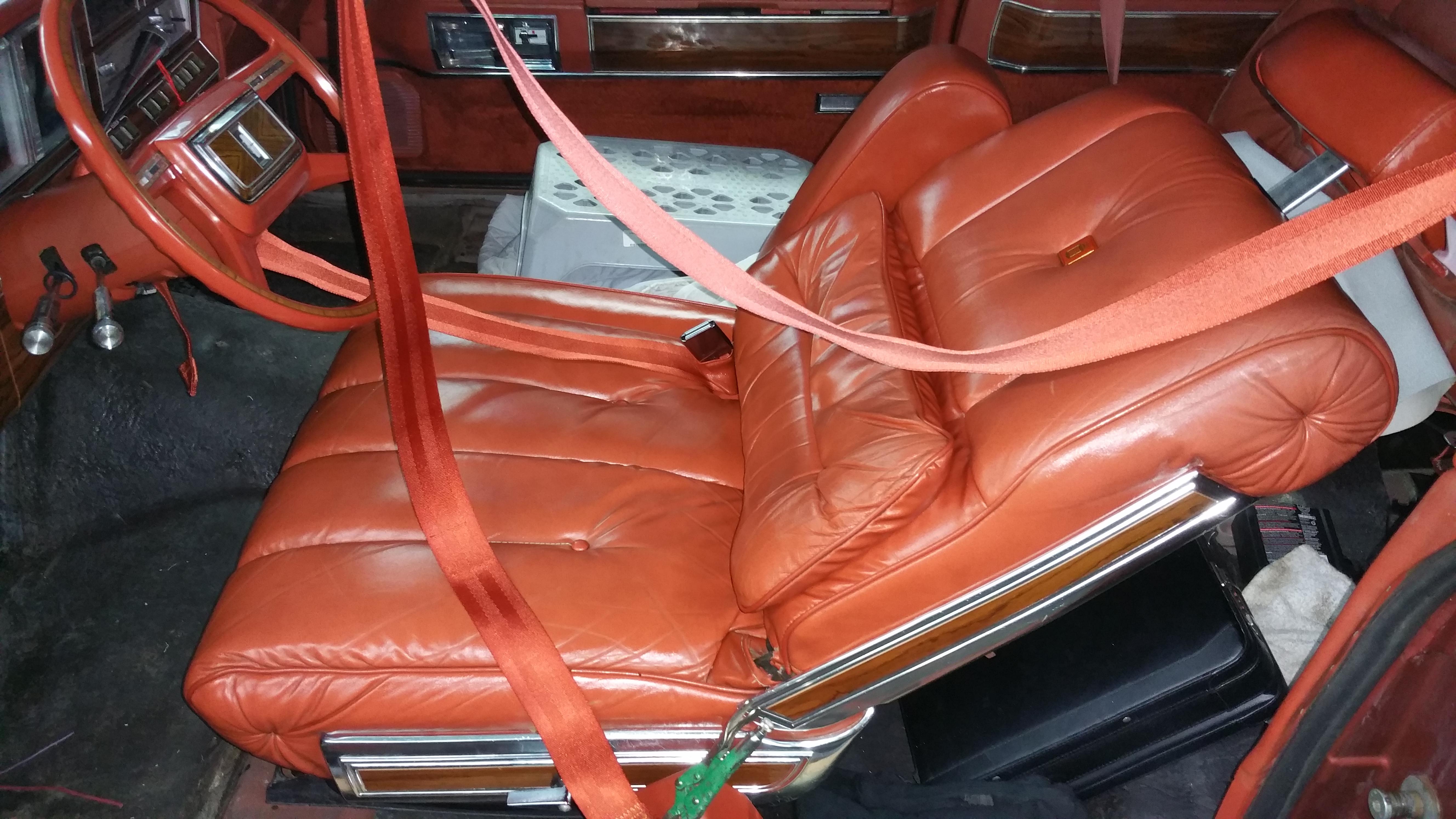 Vinyl roof and interior trim