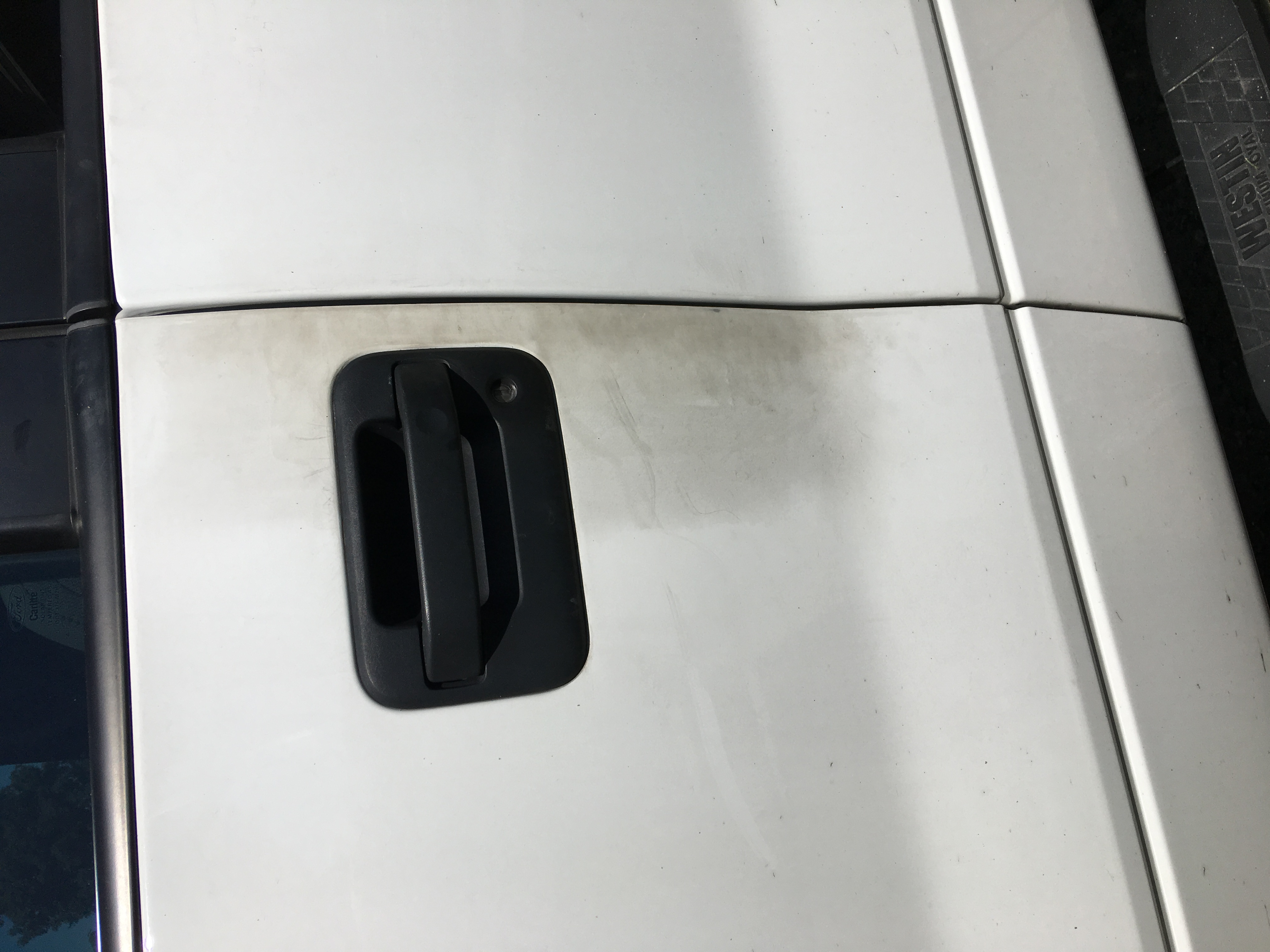 Discoloration issue