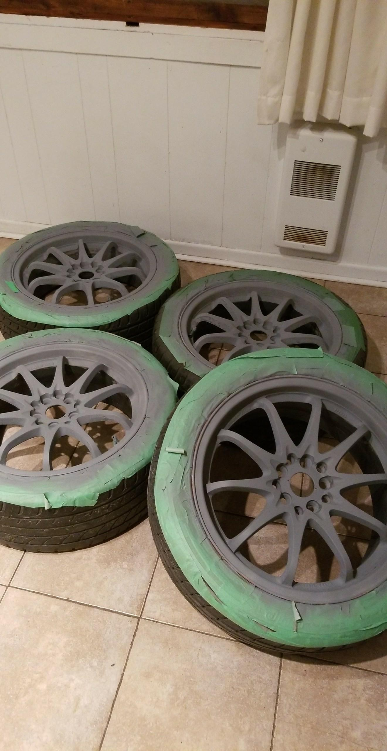 17 inch rims makeover