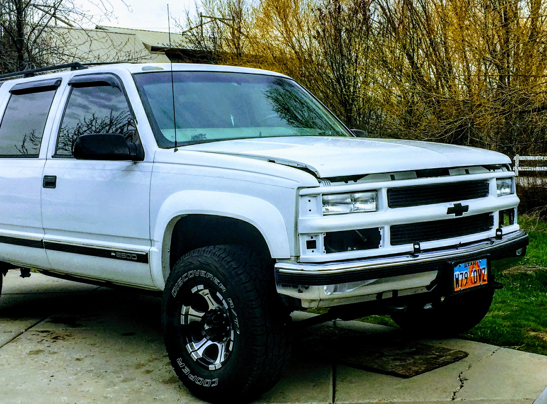 Front Grill White Out (cont)