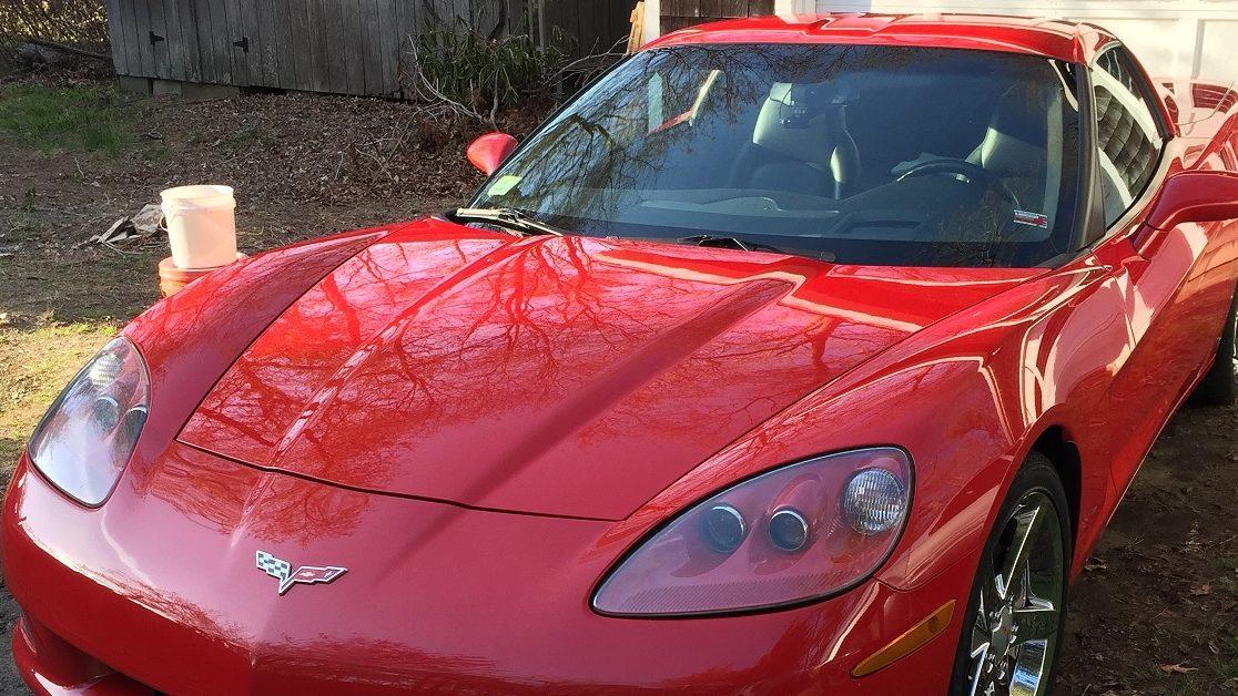 Corvette scratches