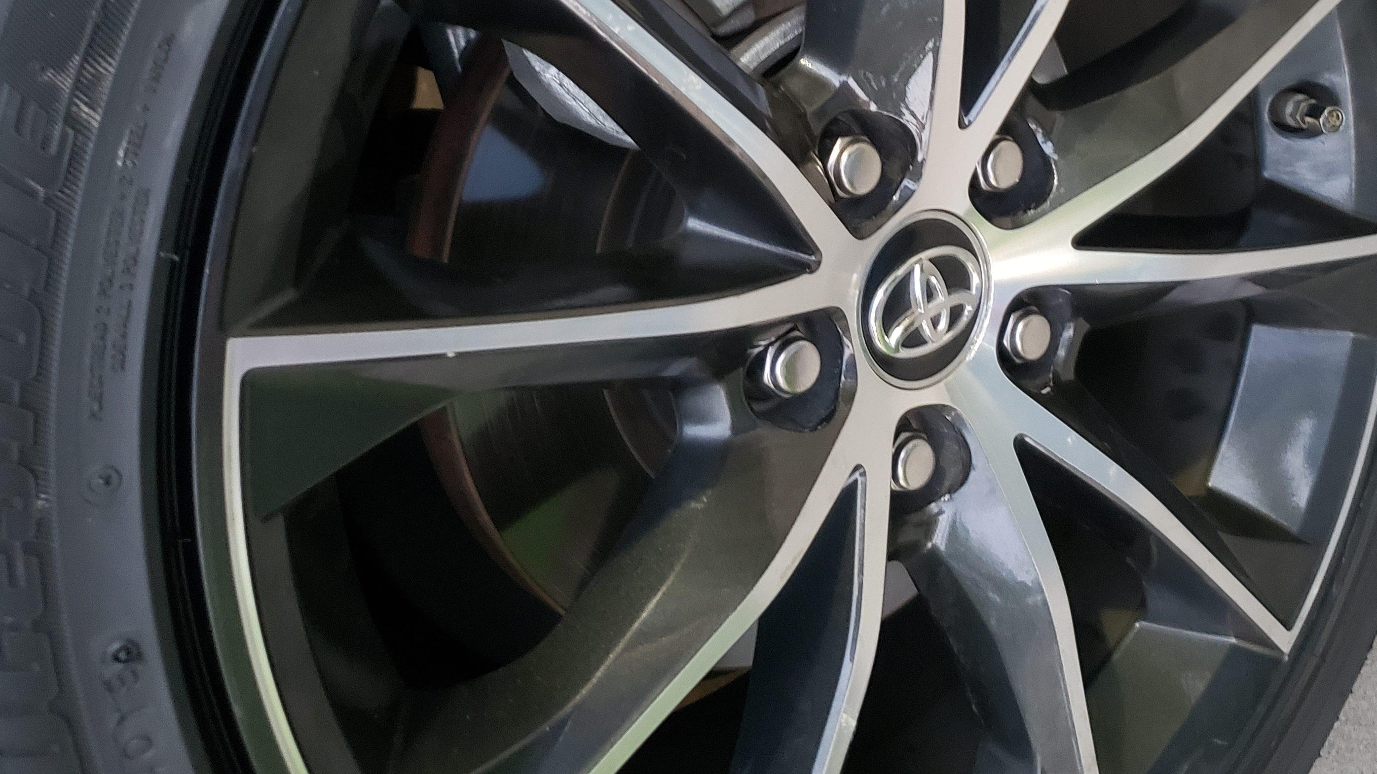 Wheel scratch