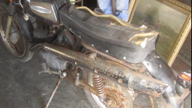 1971 Harley Davidson Aermacchi SX125 cc restoration