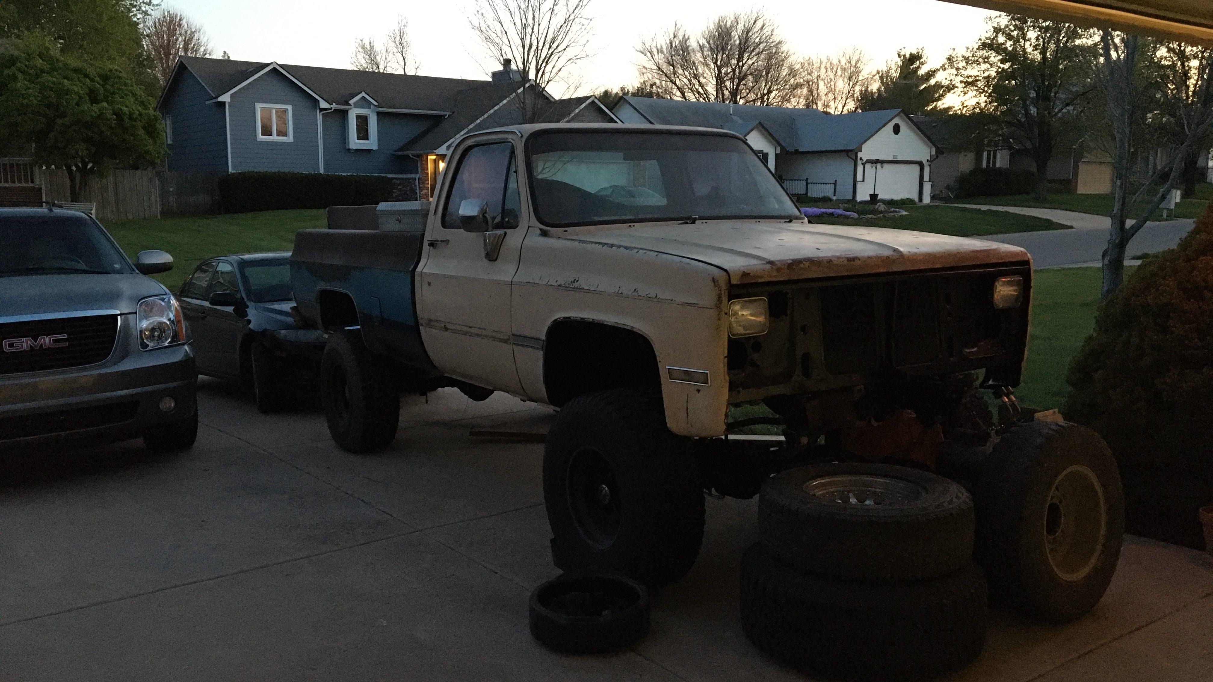 87 Chevy 4×4