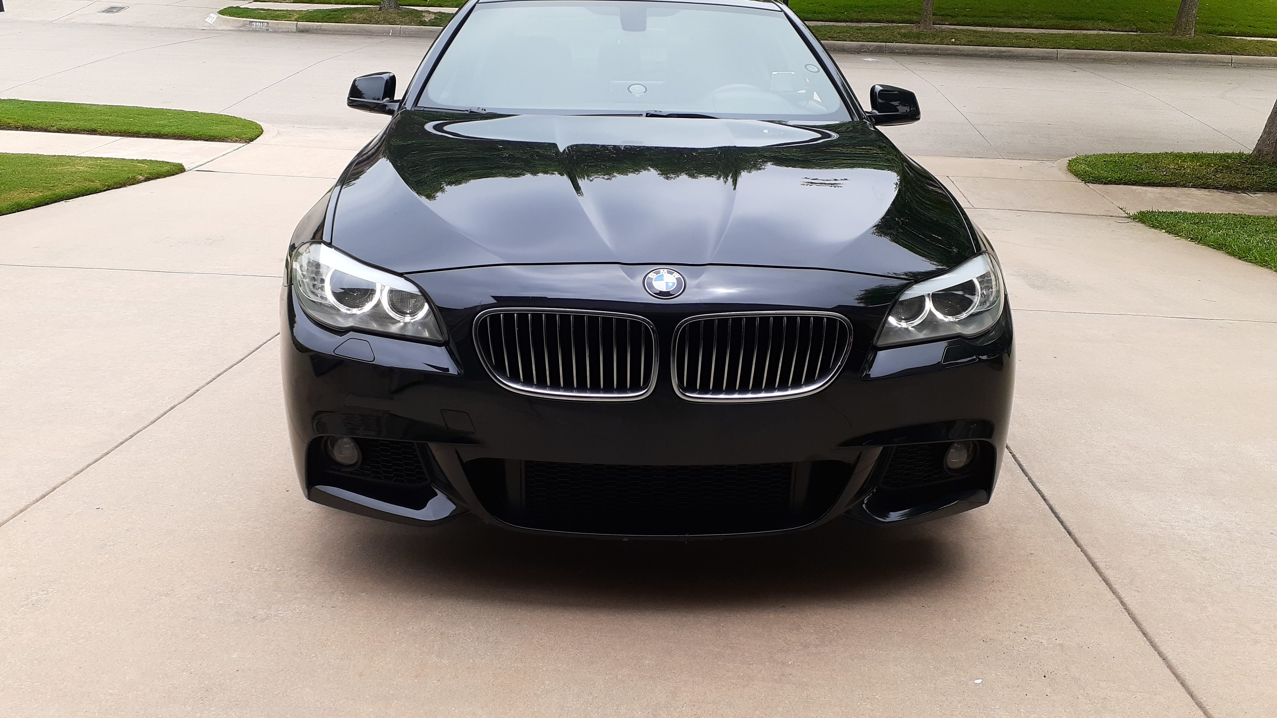 BMW 528i scratches/chips
