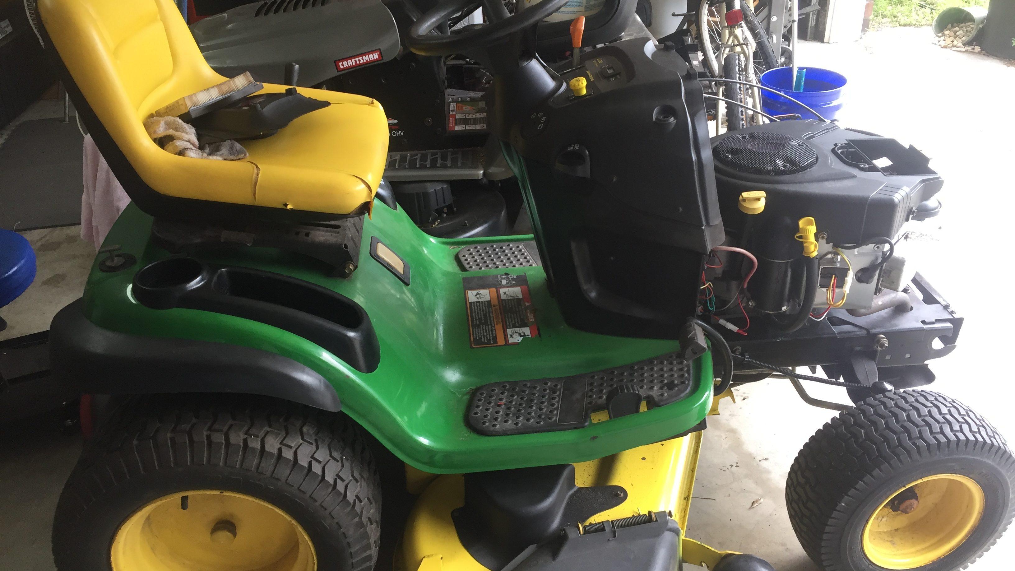 Custom John Deere L120 Lawn Tractor