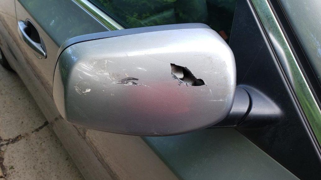 528XI repair bumper