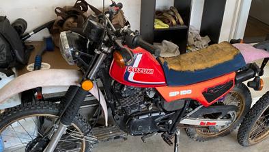 1983 Suzuki SP100