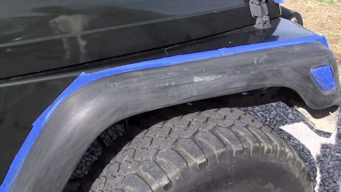 Repaint jeep