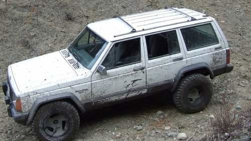 Jeep XJ called Ghost
