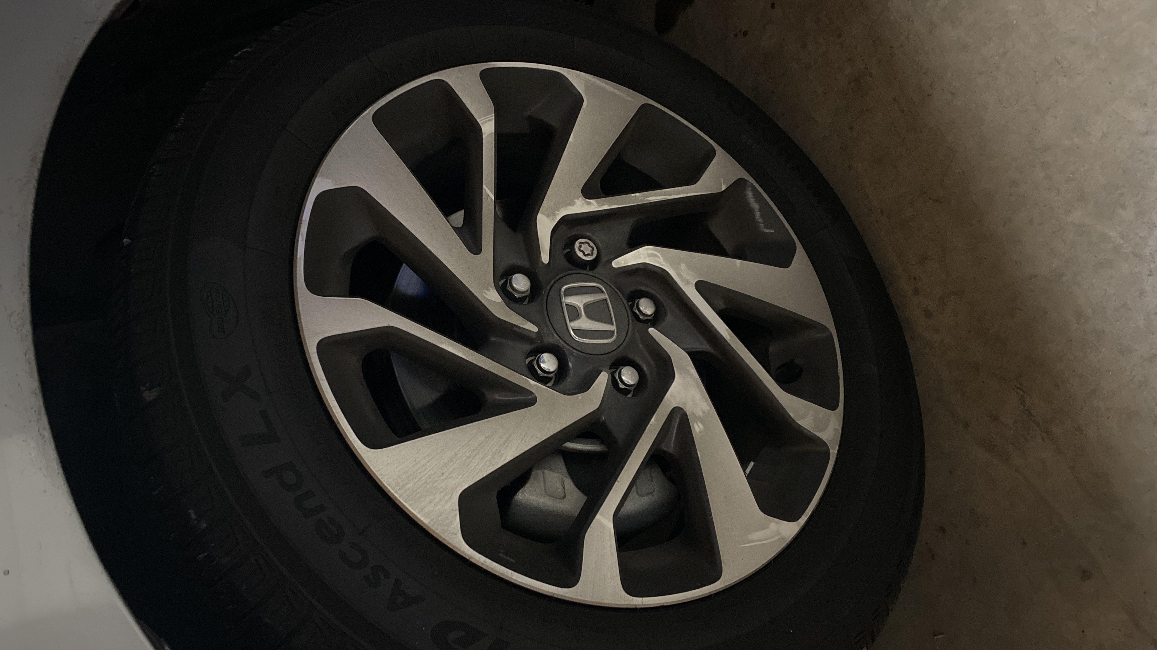 Black out Honda wheels