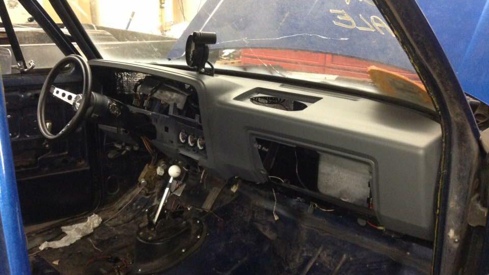 84 Dodge D100 Dash and Door panels