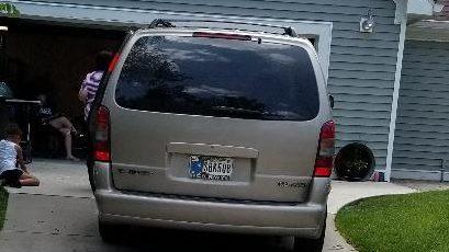 My 1998 Olds Silhouette Van