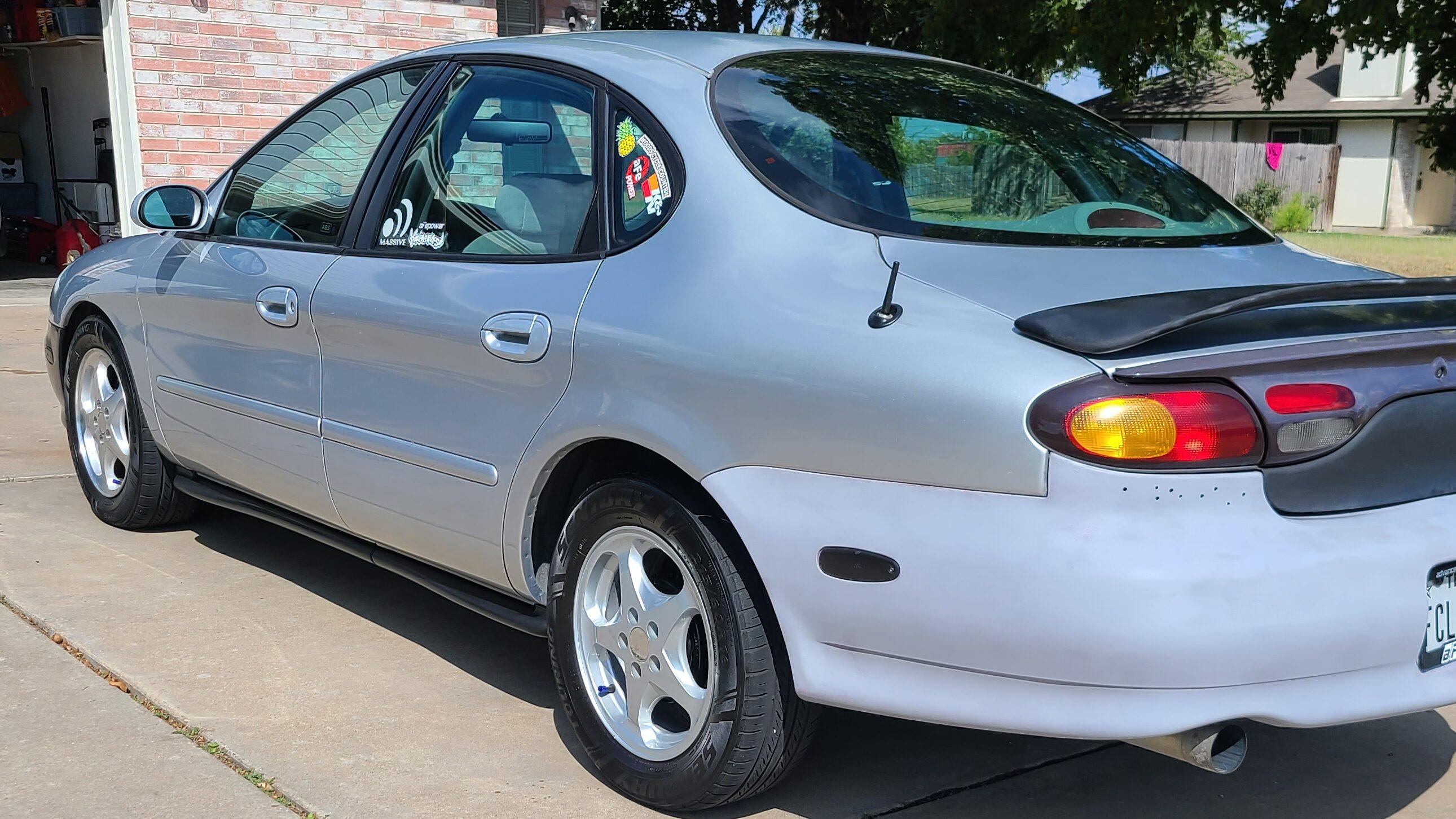 Rear bumper repaint