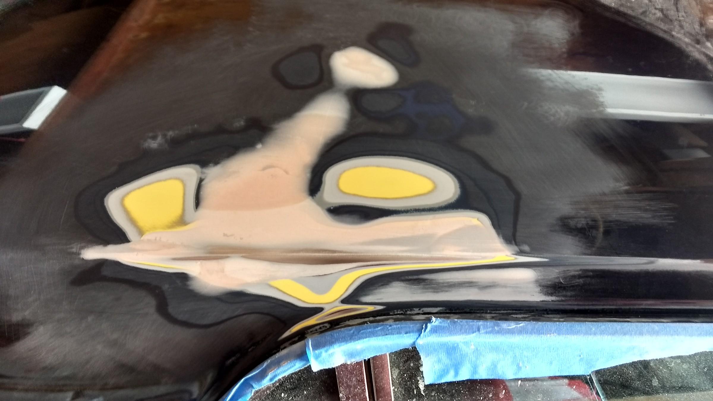 Repairing paint on my 66 Mustang