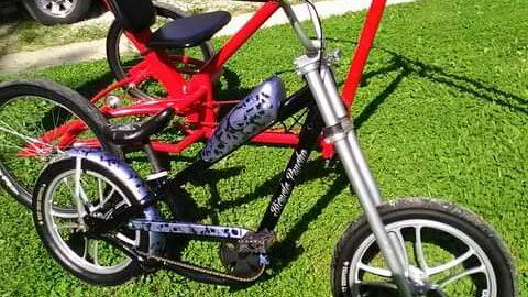 Custom Chopper Bicycle Build