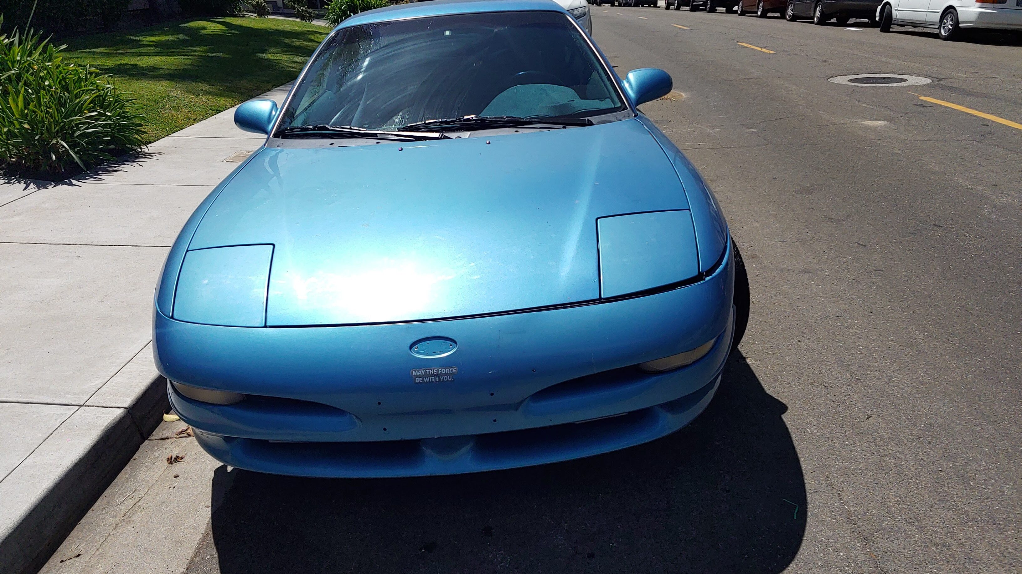 Preparations & Repainting of 93 Ford Probe GT 2.5L Hatchback